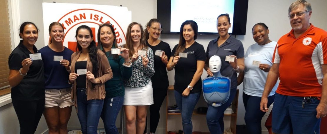 Post Covid19 in Cayman - Invenio Global, Cayman Recruitment Agency holds a First Aid Training course in conjunction with the Cayman Islands Red Cross